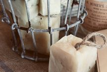 Soaps, lotions, fizzies and scrubs. / Body care items.   / by Shariwinkle