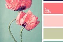 Colors / Color palettes, color psychology