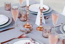 copper & rose gold weddings