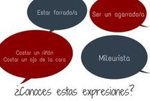 Expresiones coloquiales / Spanish Slang, expresiones coloquiales