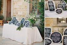chalkboard weddings  |  kreide hochzeit