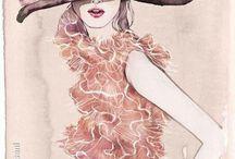 Fashion Illustrations / Illustrations dedicated on fashion and style