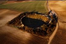 Awesome Still Photography of Lochnagar Crater, France / As a fond memory of the men and women of all nations who suffered in the Great War, Lochnagar Crater, France stands for. The remembrance ceremony is held there in each there on July 1st, the anniversary day.