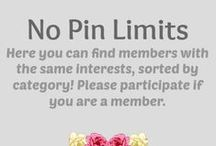 """All Categories / Comment on each category pin IF you have boards in that category. You can name the boards or link to them directly - please no other information or chat! Thank you for participating!! This is going to be very helpful if everyone joins in! ༺♥༻༺♥༻ Also you can join Group Boards per Category!༺♥༻༺♥༻ FOR """"NO PIN LIMITS - GROUP"""" MEMBERS ONLY >>>> Please also FOLLOW THIS ACCOUNT or the board(s) that you like so I can private message you! ༺♥༻ ༺♥༻"""