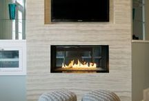 Small Space Solutions / Clever ways you can add a fireplace to even the smallest room.