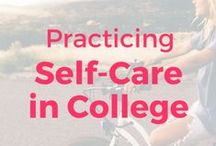 Self Care & Mental Health / Self care is a vital part of maintaining your mental health and happiness. Tips and tricks for staying on top of anxiety, depression, and advice for how to take care of and love yourself!