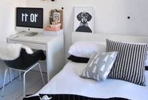 Bedrooms / Gorgeous and inspiring design for creating the coziest of bedrooms.