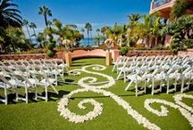 Weddings at La V / For generations the iconic La Valencia Hotel in La Jolla, CA has stood as one of the most beautiful, romantic and timeless wedding destinations world wide!  / by La Valencia Hotel