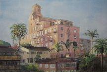 Art of La V / Art of La Valencia Hotel  / by La Valencia Hotel