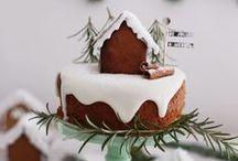 ✿ ⊱ karácsonyi torták, kekszek, édességek