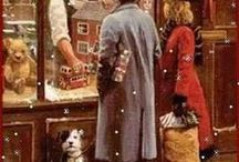 ✿ ⊱ vintage karácsony