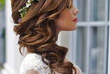 ❤ esküvői frizurák