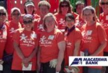 Our Community Matters / West Michigan, it's where Macatawa Bank lives, works and plays.  It makes us who we are.  Check out what we are involved with and passionate about.  For more community events visit:  https://www.macatawabank.com/info/about-us/events