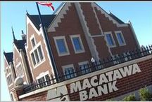 Come in, we're open! / Our Macatawa Bank locations.