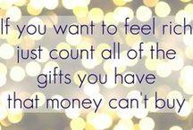 Money Talks / Financial quotes