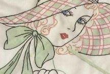 Vintage Embroidery Design / by Julie Rhome