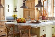 ✿ ⊱ rusztikus konyhák