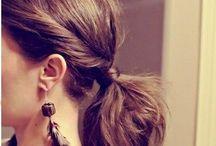 cabelo / cabelos, penteados e truques fáceis