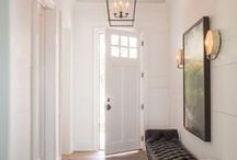 Entrance / Design and Decorating Inspiration for your next entry way redesign.