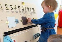 Förskola innemiljö / Inspiration för möblering och material i förskolan.
