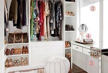 Closets / Closets that will make you green with envy.