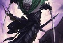 Drizzt Do'Urden / This board is about Drizzt Do'Urden and his friends and the adventures.