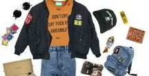 80s / R E T R O S T Y L E / If the wardrobe from Stranger Things was a Pinterest board