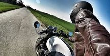 Thruxton Rider / Pictures from a Triumph Thruxton Rider and a Cafe Racer fan.