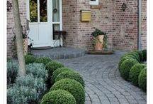 Einrichtung | Vorgarten / Inspiration für einen praktischen, einladenden, pflegeleichten, modernen Vorgarten
