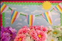 School Bulletin Boards & Classroom Walls / Tons of Bulletin Boards & Classroom Walls / by Donna Scigliano