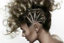 Avant Garde Hair / Peinados de vanguardia.