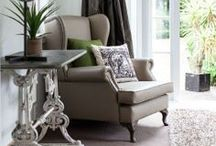 Contemporary Home / Contempory and Antique interior sourcing and style staging for client to sell property- June 2014