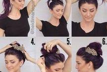 Hazlo tú misma! Do yourself! / Recogidos, peinados, pasos a paso... todo para tu cabello.