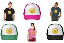 Confused Face Emoji / Emoji Confused Face designs by emojiprints.com