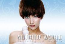 Nutrición para el cabello / Un mundo lleno de nutrición para tu cabello. Thinking in beauty.