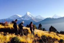 Annapurna Ghorepani Poon Hill Trekking / Ghorepani Poon Hill Trekking is a 8 days short trek in the heart of Annapurna and Fishtail Mountain. Poon Hill is one of the finest hills with the most incredible viewpoint of the Himalaya Mountains near the beautiful lake city Pokhara http://goo.gl/4JV9ce
