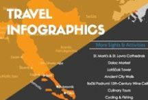 TRAVEL INFOGRAPHICS / Travel information displayed in a fun and simple way.