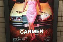 CARMEN ENO 2015 / ENO Carmen's Wig, Hair & Makeup look, 2015