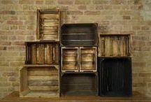 Vinterior-Kisten im Vintage Stil / Egal ob Weinkisten, Obstkisten oder Teekisten, sie alle haben einen unverwechselbaren Charme und bringen dazu noch eine tolle Atmosphäre in deine Wohnung!