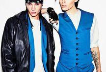 T O K I O H O T E L / Bill Kaulitz & Tom Kaulitz.