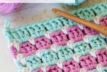 Crochet block stitch