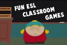 ESL Games / These free ESL classroom games help improve your students' English language skills and make learning fun.