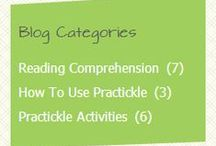 Practickle.com Blog / Through their blog, Practickle offers ideas to caregivers to put into practice techniques and activities related to #reading #comprehension and #literacy success with young #readers at home.