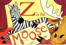Z is for Moose by Shelley Bingham / This board goes along with our recent blog post titled Making Reading Fun. We based some fun suggestions off our reading of the storybook Z is for Moose by Shelley Bingham