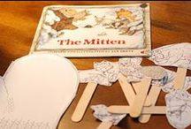 The Mitten by Jan Brett / Our pins include math games, art ideas, narrated readings, literacy games and more to accompany the book The Mitten By Jen Brett