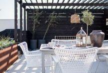 ogród + taras