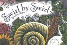 Swirl by Swirl by Joyce Sidman / This board supports one of our guided reading book suggestions, Swirl by Swirl by Joyce Sidman. Head to www.practickle.com for the three part reading guides to accompany this reading. Our pins include math games, art ideas, narrated readings, literacy games and more