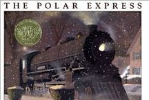The Polar Express by Chris Van Allsburg / This board supports one of our guided reading book suggestions, The Polar Express by Chris Van Allsburg. Head to www.practickle.com for the three part reading guides to accompany this reading. Our pins include math games, art ideas, narrated readings, literacy games and more