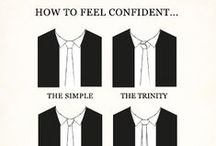 How to feel confident / Tips on how to feel confident by wearing the right stuff the right way.