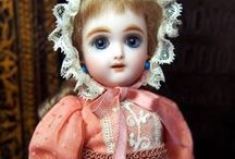Antique Reproduction Bisque Doll / My works